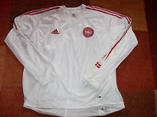 2004 2006 Denmark L/s Player Issue Dual Layer Football Shirt Adults XXL Jersey