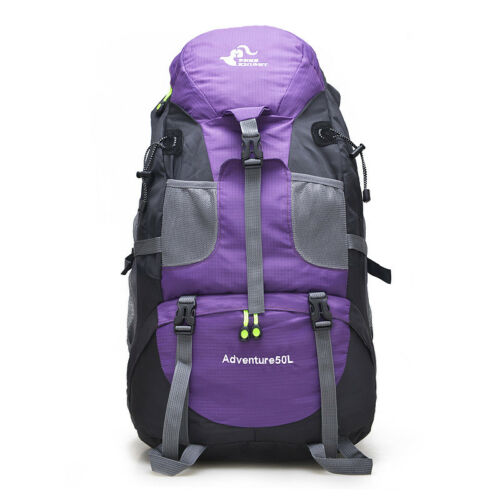 Men Travel Backpack Military Outdoor Hiking Bag Cycling Climbing Rucksack