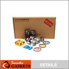 DNJ P211A Std size Complete Piston Set For 88-89 Acura Integra 1.6L L4 DOHC 16v