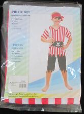 Pirate Boy Bambini Costume Medium (122-134cm)