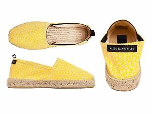 139c60cfc Alice + Whittles Espadrilles Yellow Anchor Size 37 US 7. NWT $90 | eBay