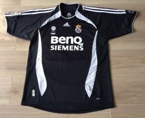 buy online fbf4f 749b3 Details about REAL MADRID FOOTBALL SHIRT V. NISTELROOY # 17 AWAY KIT  2006-2007 SIZE XL VGC