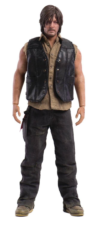 The promänading Dead Daryl Dixon Action Figur