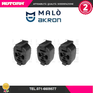 2856S 8 Gommini ammortizzatori ant-post Fiat-Lancia-Talbot MARCA-MALO/'
