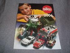 320B Catalogue Siku 2006 de 48 Pages 15 CM # 11 CM