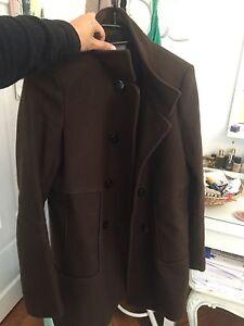 on sale 7ef6a 7b2e7 Details zu Brauner Mantel Zara
