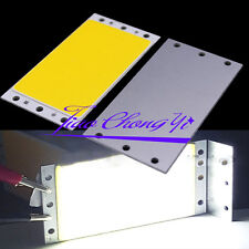 1X 15W 94X50MM 9450 White COB LED Panel Strip Lights DC12-24V For DIY car lamps