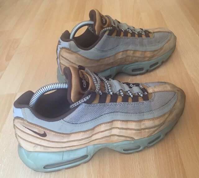 Nike Air Max 95 Premium Wheat Bronze Baroque Brown Bamboo Mens Size 7