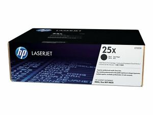 HP (cf3) High Yield Black Original LaserJet Toner Cartridge CF325X 25x