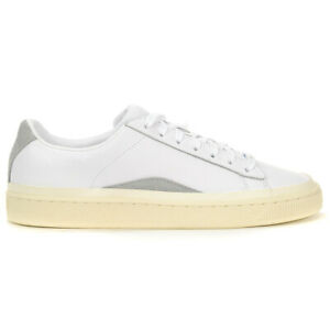 PUMA Basket X Han Kjobenhavn Puma White/Whisper White Men's Shoes 36718501 NEW!