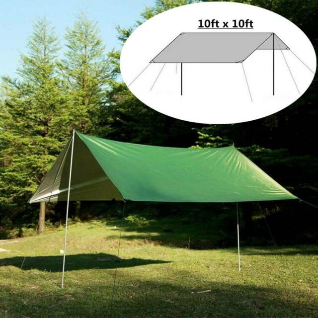 Waterproof Tarp Tent Equipment Camping Tent Accessories Sun Shelter Rain Cover