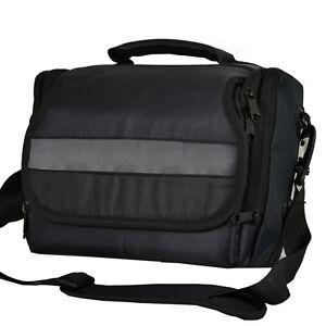 DSLR Camera Shoulder Bag Case For Pentax K5-IIs K5-II K-30 K-5 K-7 K-r (Black)