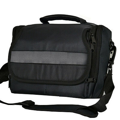 DSLR Camera Shoulder Bag Case For Pentax K5-IIs K5-II K-30 K-5 K-7 K-r (Black)