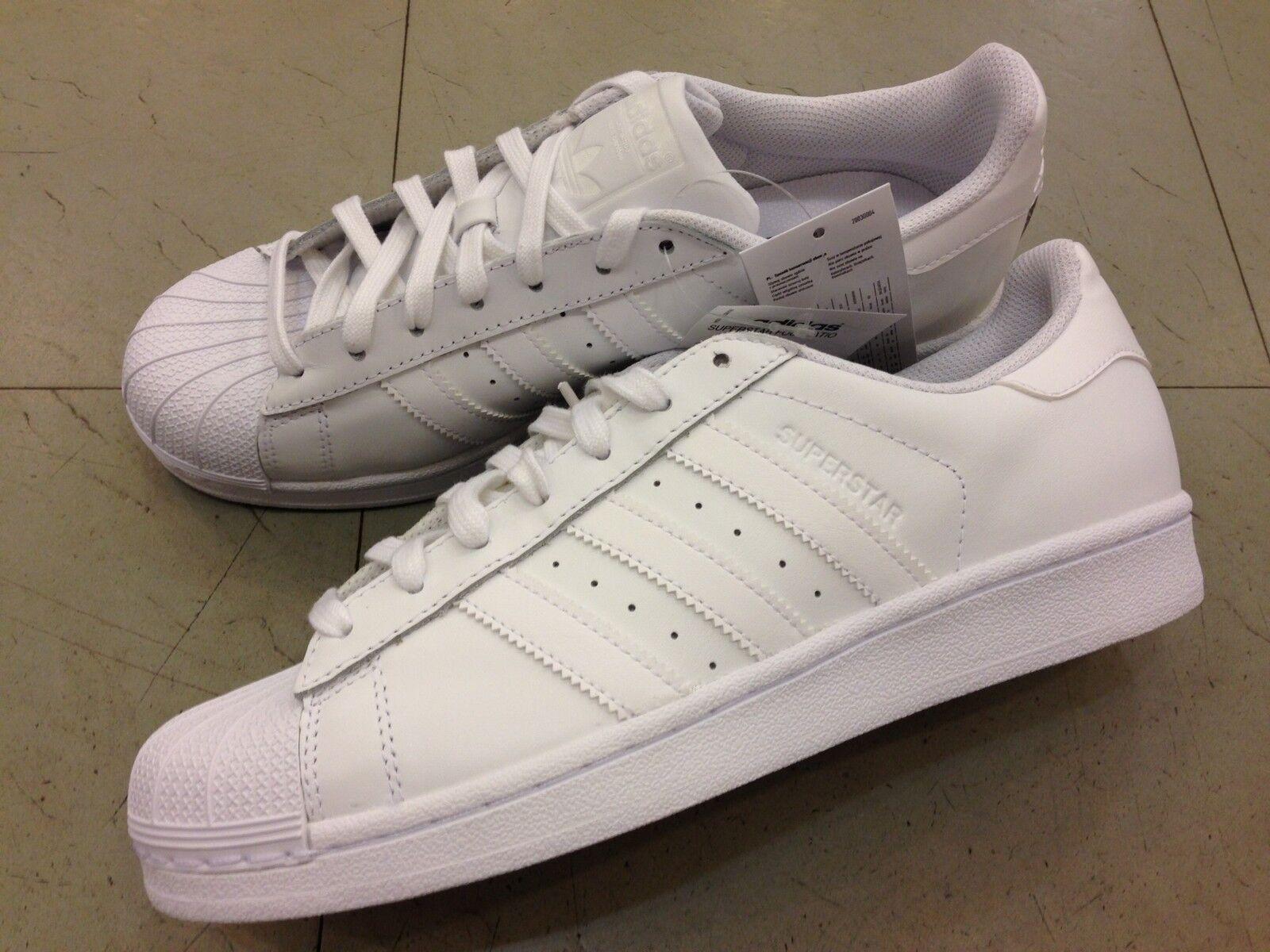 SHOES shoes men ADIDAS ORIGINALS SUPERSTAR FOUNDATION B27136 LEATHER WHITE