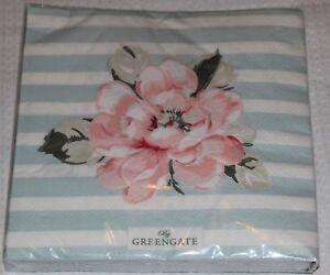 Greengate-Servietten-Ditte-mint-20-Stueck-NEU-Raritaet