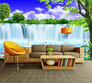 3D Himmel Wasserfall 565 Tapete Tapeten Mauer Foto Familie Tapete Wandgemälde DE