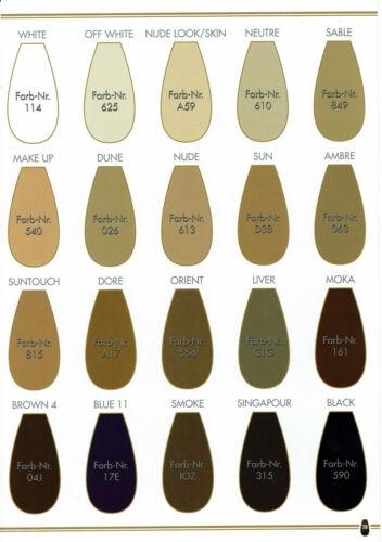6 Pack: Pantyhose Oroblu Geo 8 8 DEN sheer to the waist ultra-sheer