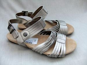 5 37 Sandali da 5 4 Shimmer in metallizzata donna pelle taglia New Clarks Olbia 7Pa7px