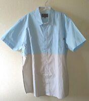 W/tag Benny Gold San Francisco Size 2xl Cotton Shirt W/pocket 2-tone