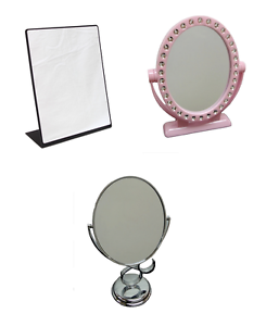 Counter Top Mirror Tabletop Jewelry Make Up Vanity