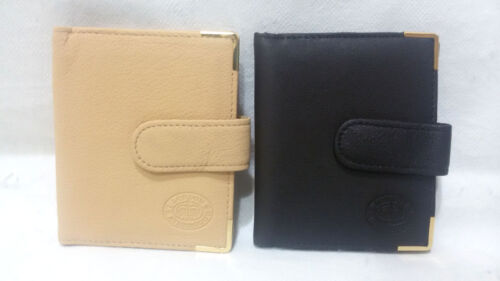 LADIES MENS HIGH QUALITY LEATHER CREDIT CARD HOLDER WALLET PURSE1317