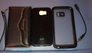 Lot-Of-3pc-Lifeproof-Rebeccaminkoff-Wallet-Moshi-Cases-for-Samsung-Galaxy-S6