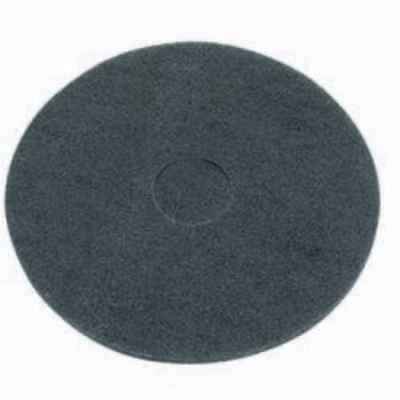 Virginia Abrasives 416-50174 17 x 1 in Pack of 5 Black Thick Nylon Floor Maintenance Pad