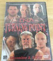Tna Wrestling - Turning Point 2007 (dvd, 2008) Aj Styles Samoa Joe Wwe Nxt