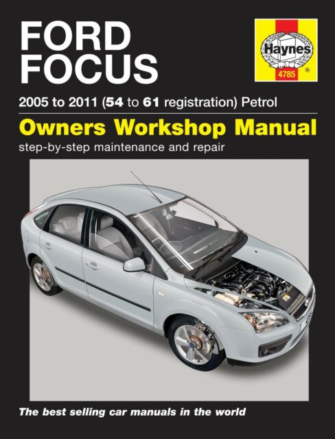 ford focus mk2 2005 2011 haynes workshop manual 4785 ebay rh ebay co uk 2007 Ford Focus OEM Tires 2007 Ford Focus Repair