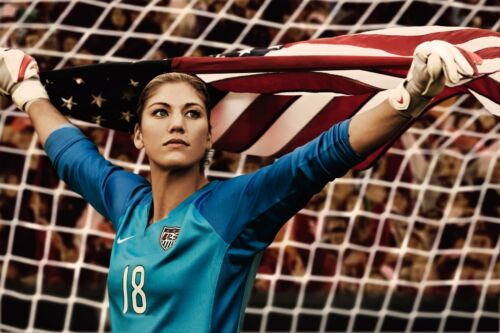 Hope Solo Team USA Soccer Poster Wall Art Photo Artwork 12x18 20x30 or 24x36