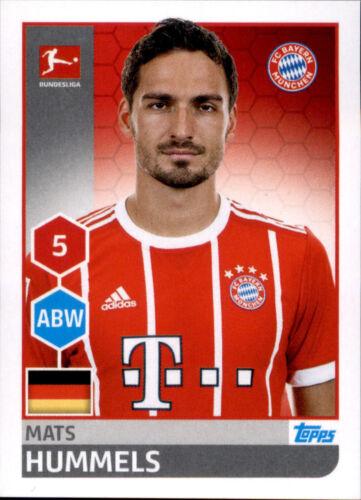 Mats Hummels Sticker 218 TOPPS Bundesliga 2017//2018