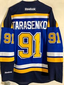 Reebok Premier NHL Jersey St. Louis Blues Vladimir Tarasenko Blue sz ... 7c362da7d