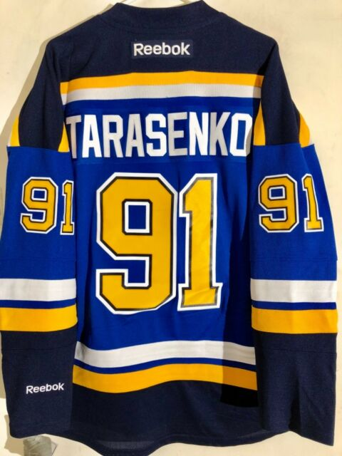 sale retailer 49ece d1e52 Reebok Premier NHL Jersey St. Louis Blues Vladimir Tarasenko Blue sz XL