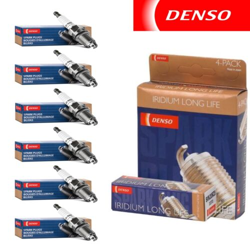 Denso Iridium Long Life Spark Plugs for 1999-2004 Nissan Frontier 3.3L 6