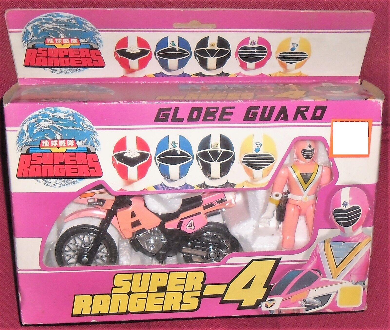 Bild hat sentai   tokusatsu fiveman taiwan 80-Rosa ranger, moto fahrrad power ranger