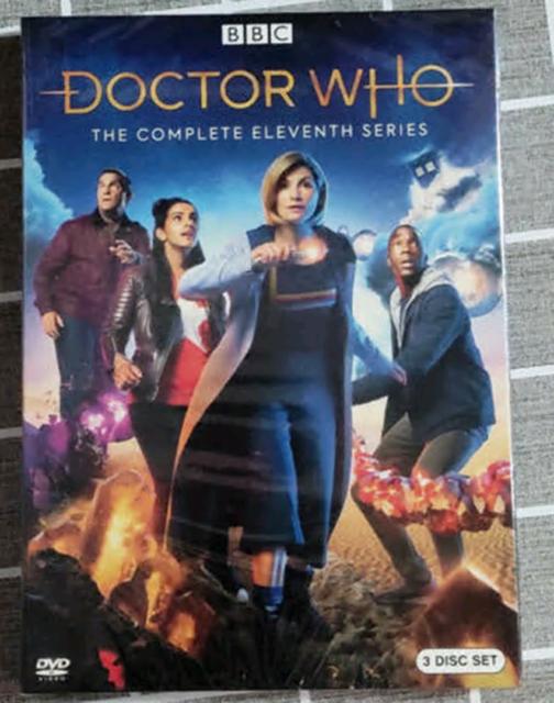Doctor Who : Complete Season 11 (DVD 3-Disc Set) Brand New US Seller Region 1