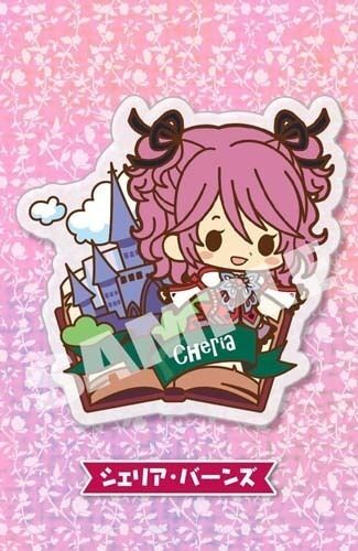 Tales of Friends Cheria Barnes Graces Clear Brooch Pin NEW