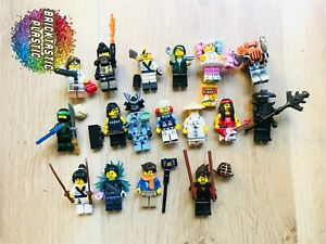LEGO-Ninjago-near-complete-set-minifigure-series-x17-figs-71019-RARE