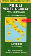 Friuli Venezia Giulia 1:250.000 Mappa - Touring - Cartina Nuova in Offerta!
