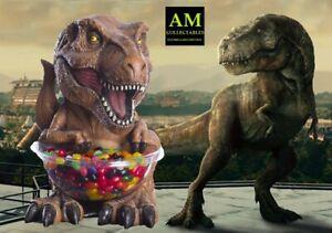 RUBIES-Jurassique-Monde-T-Rex-Candy-Bol-Support-Porte-Ustensiles-Park