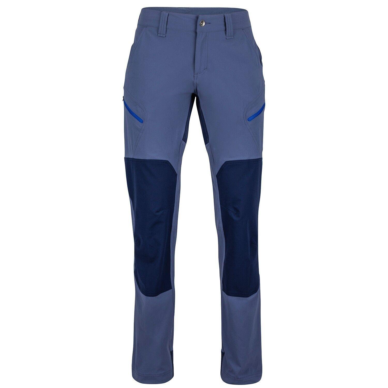 Marmot Limantour pantalones mujer, Softshell para Monsoon - ARCTIC marino