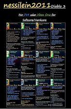 Diablo 3 RoS Ps4/Xbox One - Modded Item Set - High Damage 100% Unsterblich