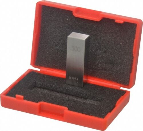 Value Collection 1//2 Inch Grade AS-1 Steel Gage Block Rectangular NIST Trac...