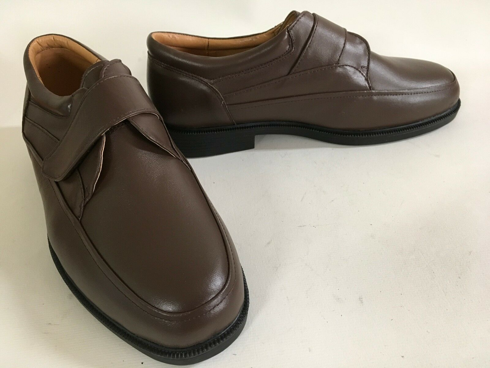 AMBASSADOR LOAFERS Brown Espresso Leather Comfort LOAFERS AMBASSADOR 9D 8aaa86