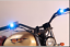 Pair-Motorcycle-Spotlight-Cold-Blue-LED-Daytime-Running-Lights thumbnail 2
