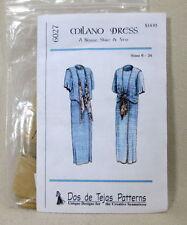 Dos de Tejas Pattern 6027 Milano Dress  Misses Skirt Blouse Vest 6-24