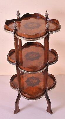 Stunning Etagere Is Louisxv Style, Nice Marquetry, C. 1900 Mangelware