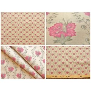 Coupon-fabric-by-50cm-suza-red-beige-background