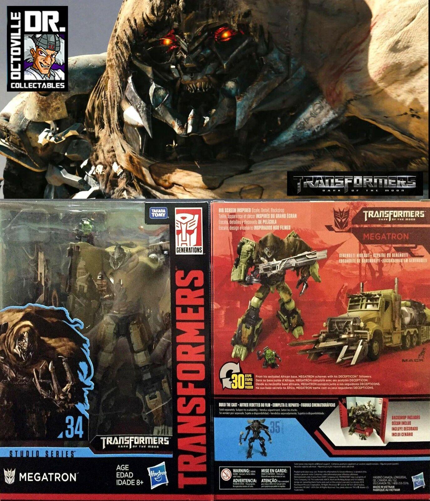 Transformers Hasbro Studio Series SS34 leader DOTM Megatron Nuovo di Zecca