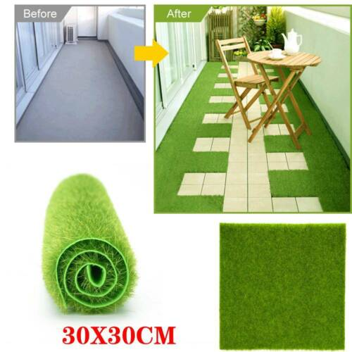 Artificial Grass Turf Fake Lawn For Miniature Landscaping Decoration30 x 30cm